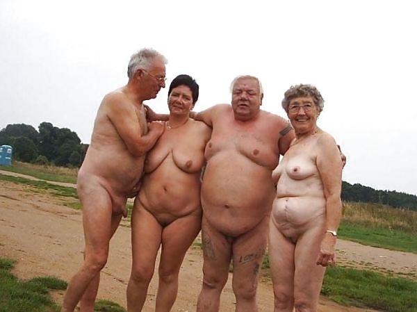 Grandma and grandpa naked